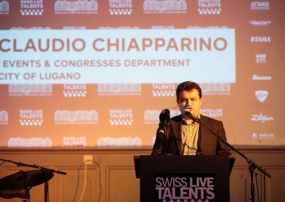 Claudio Chiapparino,Turnhalle, SLT, MuMa 17